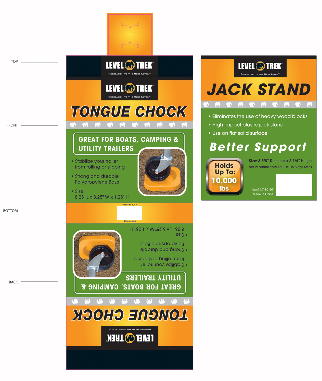 Custom product labels design